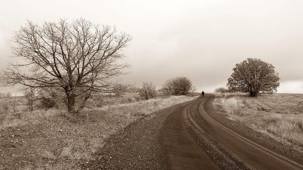 Road views.. Village road.