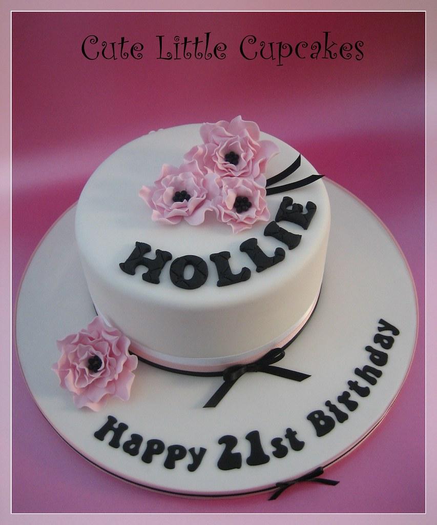 Admirable 21St Birthday Cake Heidi Stone Flickr Funny Birthday Cards Online Benoljebrpdamsfinfo