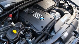 BMW 335i Engine Bay   by Classic Mini's Japan