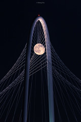 Strawberry Moon at MRH Bridge
