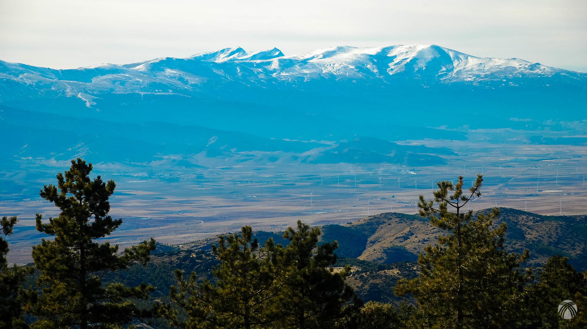 Bonitas vistas hacia Sierra Nevada