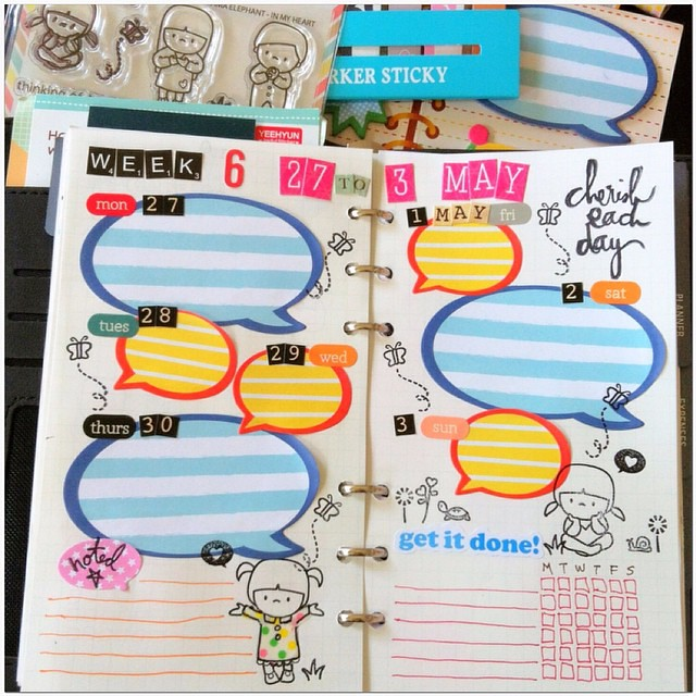 image relating to Diy Planner Organizer identify 2015 Do-it-yourself planner: Phrase 2, 7 days 6 #planner #planners #pl