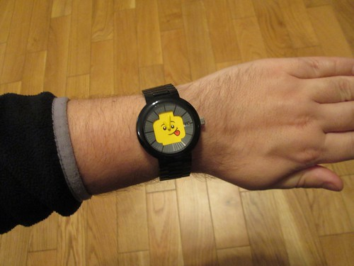 LEGO Happiness Watch (Black) | by hippotam