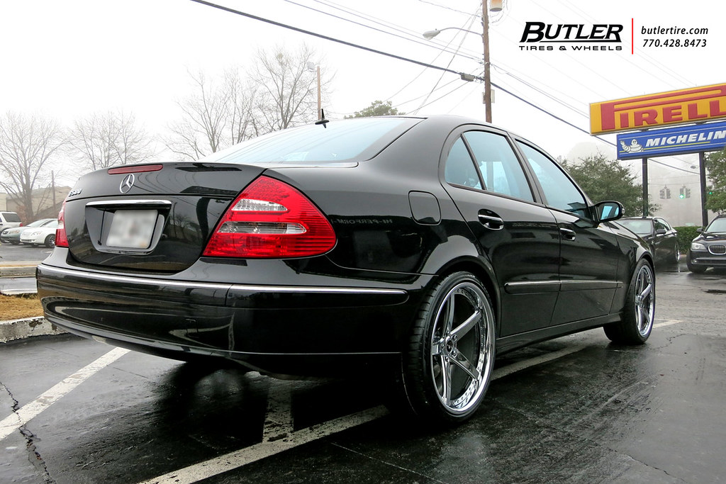 Mercedes Benz E500 With 20in Savini Sv44 Wheels Additional Flickr
