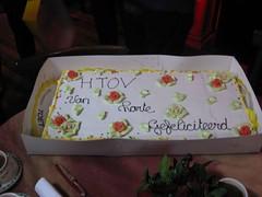 zelfs een grote taart