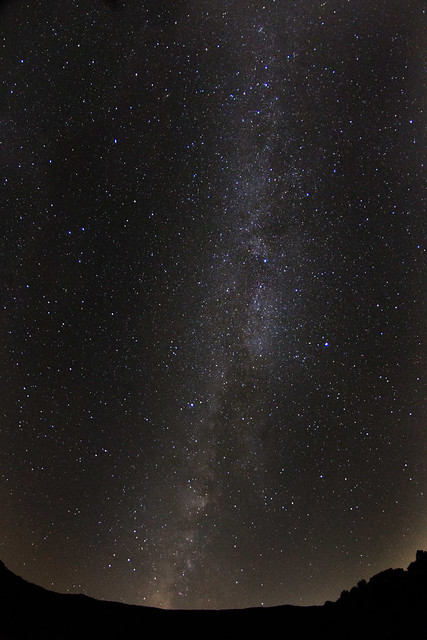 Milky Way over Big Bottom, White County, Tennessee