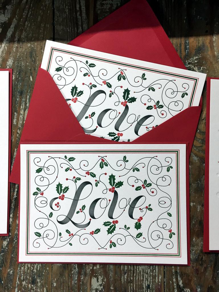 Letterpress Christmas Cards.Letterpress Christmas Cards Animatipia Flickr