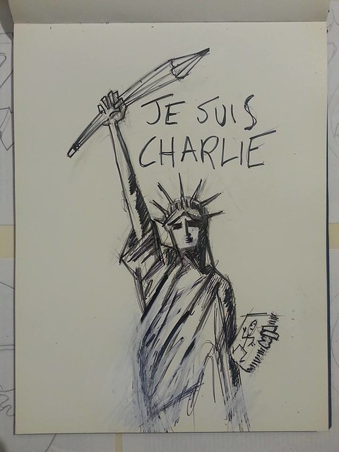 Clet Abraham ..Je suis Charlie