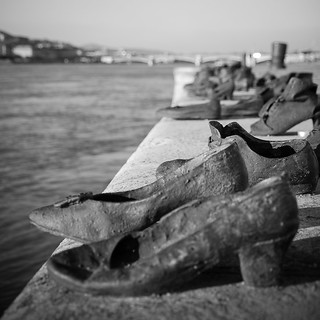 Shoes on Danube Bank