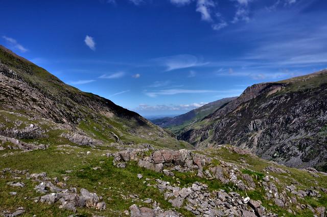 Crib Goch  Snowdonia National Park in Gwynedd, Wales