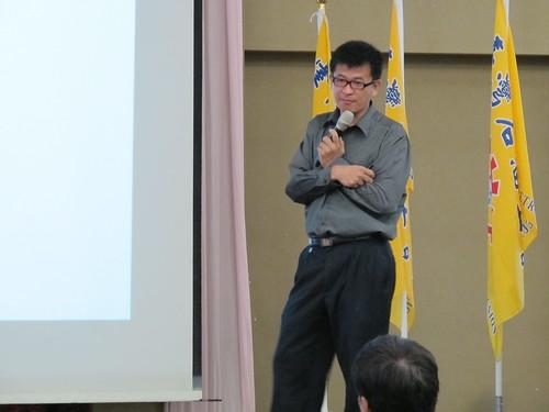 圖10精湛學習公司王在正講師講授「創造雙贏的勞資談判技巧」
