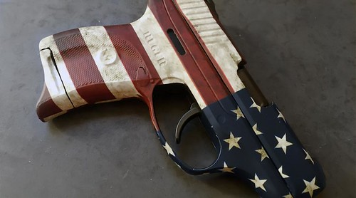 American Flag Pistol Skin
