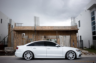 Audi S4 on CW-S8 White | by Concavo Wheels