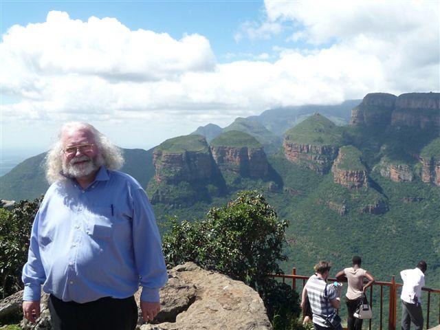Jan Theuninck at Drie Rondawels, Mpumalanga