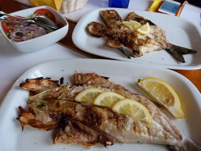 Peixe grelhado (Alentejo, Portugal)