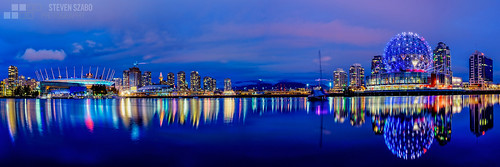 vancouver zeiss nikon waterfront britishcolumbia nighttime bclions grousemountain scienceworld gmplace lowermainland telusworldofscience d810 vancouvercannucks rogersplace nikond810 nikonflickraward infinitexposure distagon21mm28zf