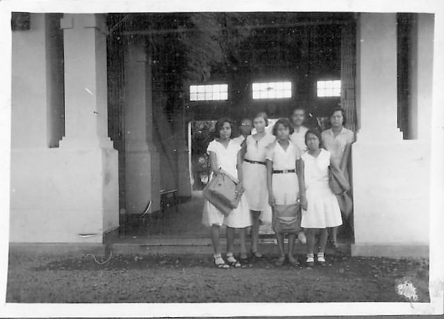 Mulo school at Pasar Baroe in Weltevreden Batavia in the Dutch East Indies between 1931 and 1936