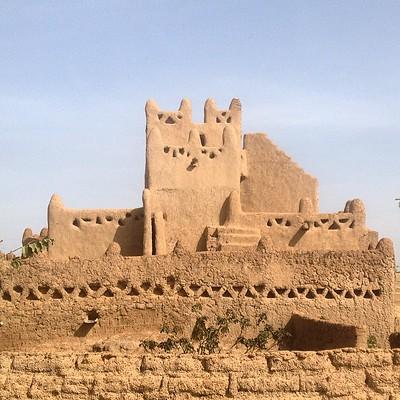 Ghana - Zayaa Mud Mosque