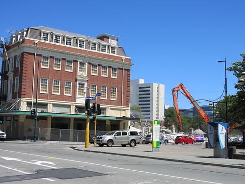 Corner of Colombo and Armagh Street