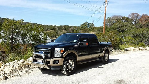 A Black Ford Super-Duty | by DiamondBack Truck Covers