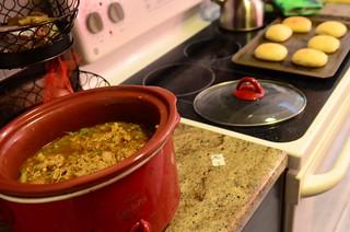 garam masala chicken stew   by minervacat