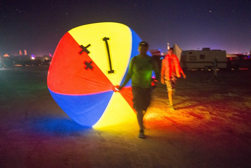 Autonomous Beach Ball on the Playa | by Jeff Vyduna