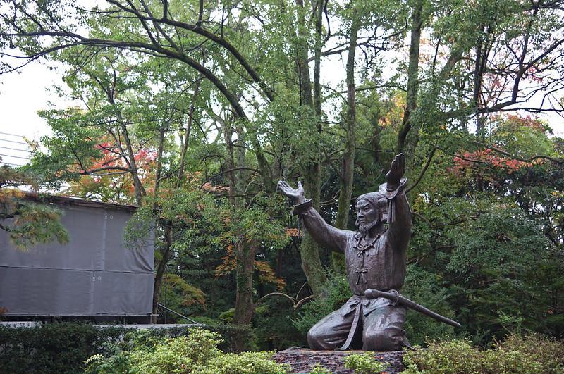 Statue représentant Okuninushi