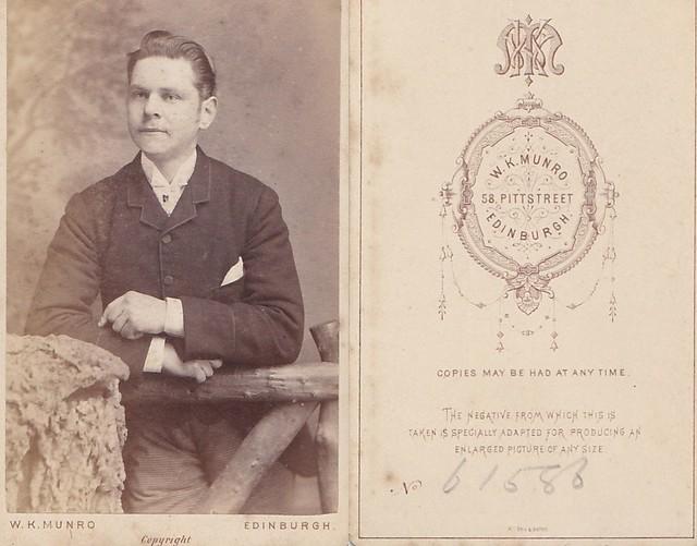 CDV Portrait of a Gentleman by Munro of Edinburgh
