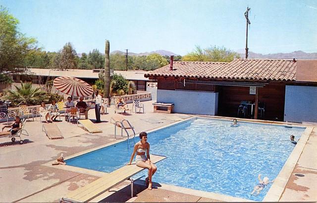 Ghost Ranch Lodge swimming pool Tucson_AZ