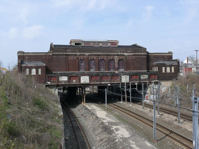 20080420 39 old train station, Pawtucket, Rhode Island