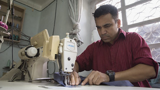 Tailor Sews in Nepal | by World Bank Photo Collection