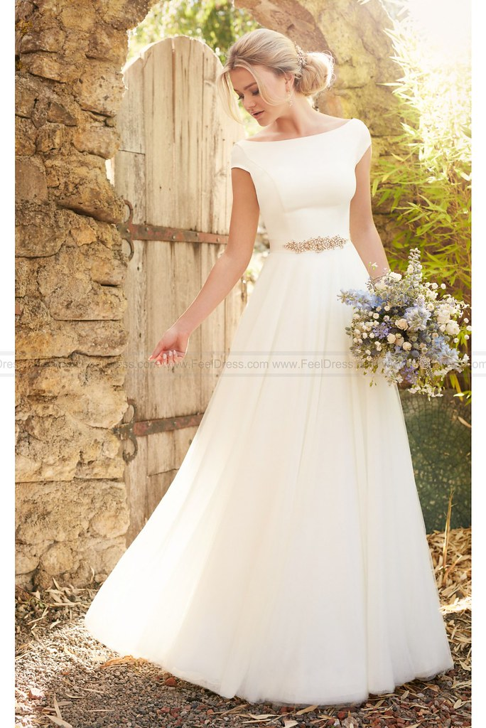 Essense Of Australia Modest Luxe Boho Wedding Dress Style Flickr