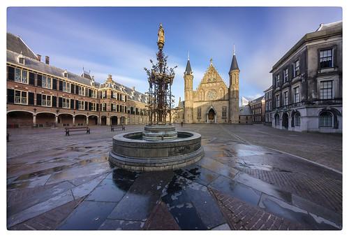 The Hague, Binnenhof   by Paulemans