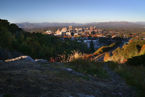 city morning blue mountains fall sol del sunrise dawn early nc downtown view asheville north ciudad ridge amanecer western carolina vista salida otoño appalachian norte montañas wnc apalaches