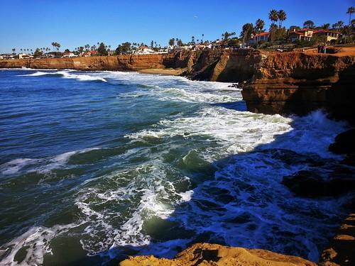 sandiego sunsetcliffs samsung california cliff cliffs seascape ocean pacificocean geotagged