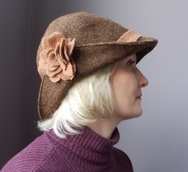 Harris Tweed hat