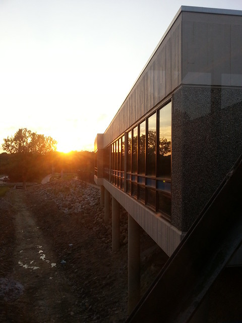 Sunset at Parkway South High School - Manchester, MO_20140925_183232