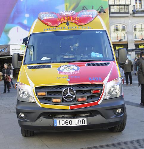 Nueva Mercedes Sprinter. Samur Protección Civil (SVB) | by juanemergencias