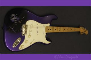 Hendrix Art Guitar