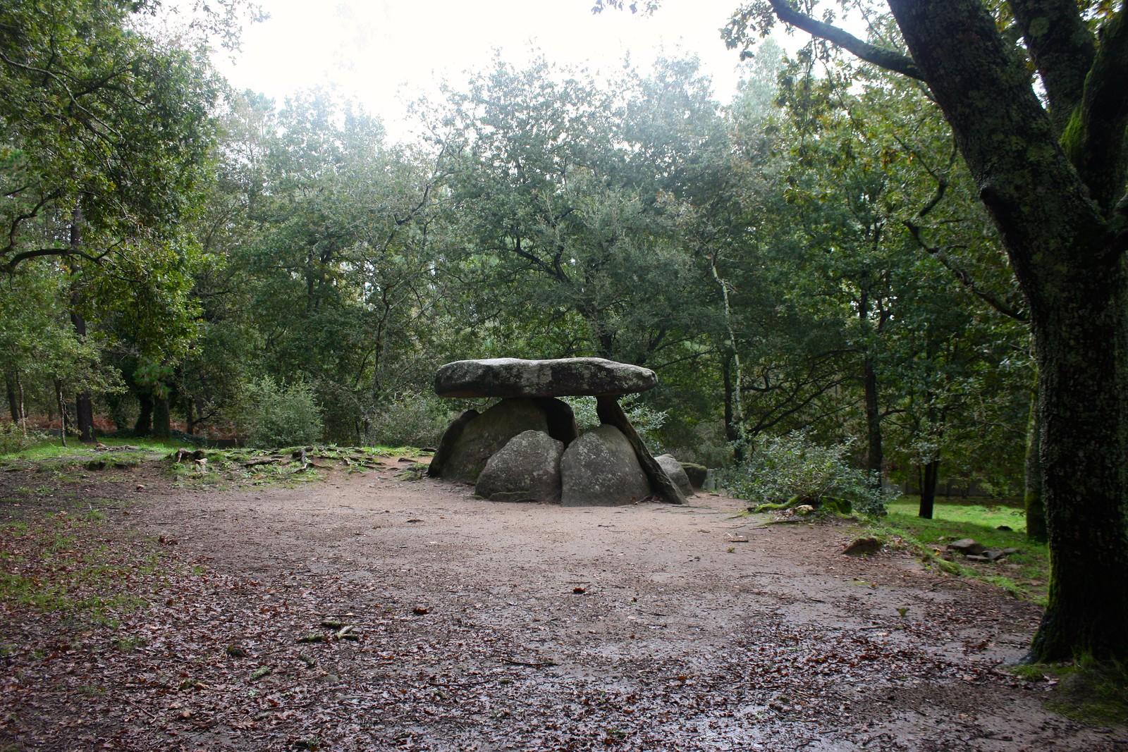 Axeitos dolmen, Ribeira, Spain