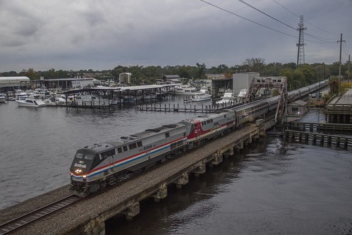 train amtrak jacksonville phaseiii phase3 amtk42 p091 amtk822 mcgirts veteransunit mcgirtscreekbridge amtrak91