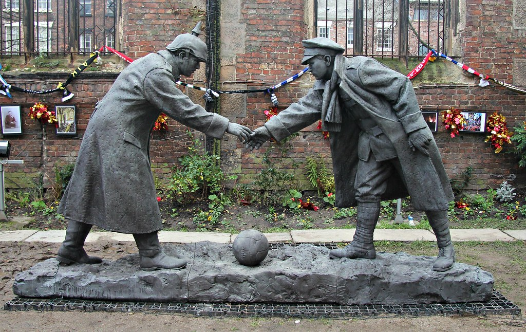 The Christmas Truce | Remember boy that your forefathers die… | Flickr