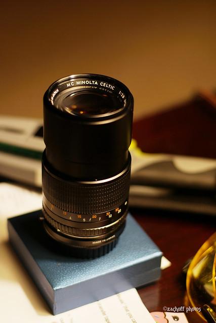 135mm f/2.8 Minolta Celtic MC Prime