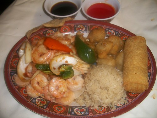 C2 Pepper Shrimp and Sweet & Sour Pork | by Golden Gate Chinese Restaurant