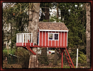 Little Red Tree House | by KaCey97078