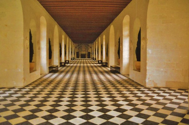 Chateau d'Chenonceau - the Gallery (France)