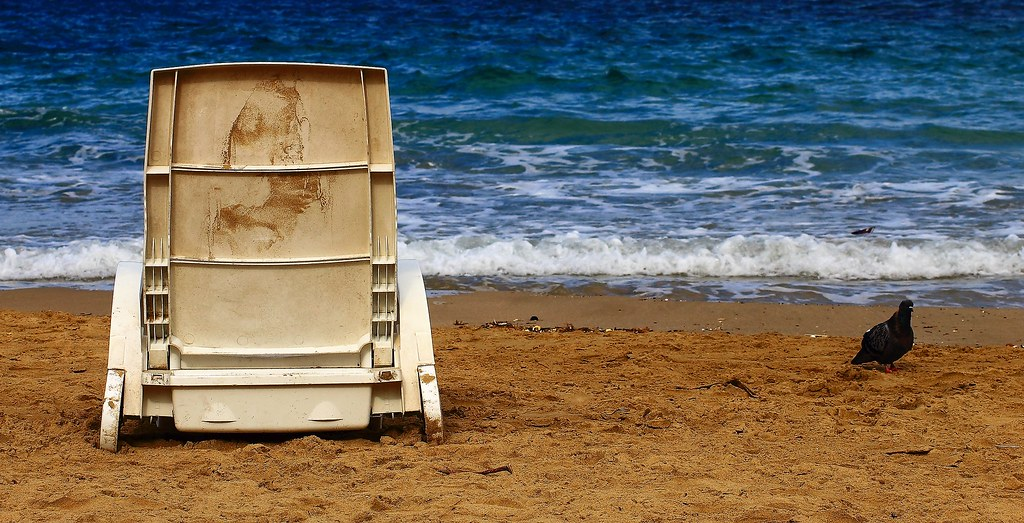Tranche de plage