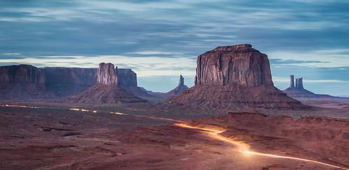 longexposure utah nikon desert trail navajo monumentvalley mitten sfumato lighttrail navajonation jameshale jimhale shutterjack