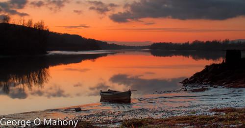 sunset ireland river suir waterford longexposure