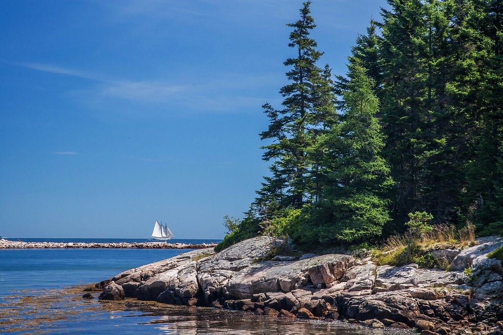 Acadia National Park, near Seawall